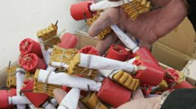 'Botti' illegali: scoperto un arsenale in via Baffigo
