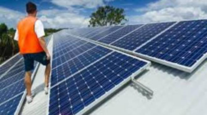 Pocacqua, inaugurazione dell'impianto fotovoltaico