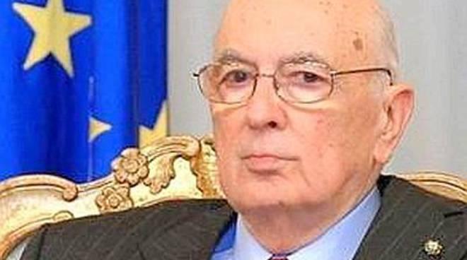 """Il presidente Napolitano """"benedice"""" il festival dei quotidiani on line"""
