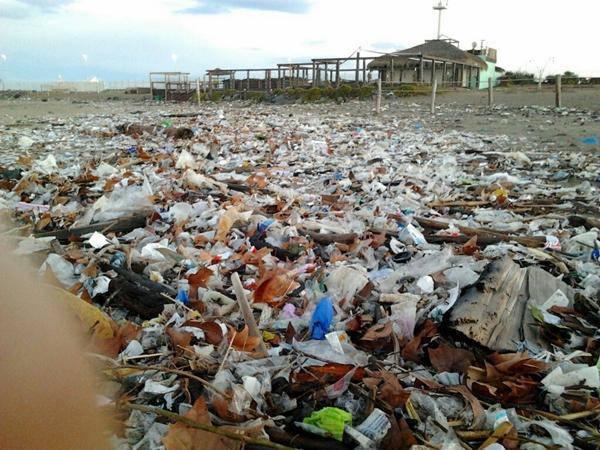"""""""Ecco come sono ridotte le spiagge a Fiumicino"""""""