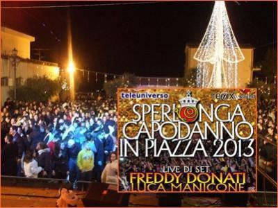 La Riviera d'Ulisse festeggia il 2013 in piazza a Sperlonga