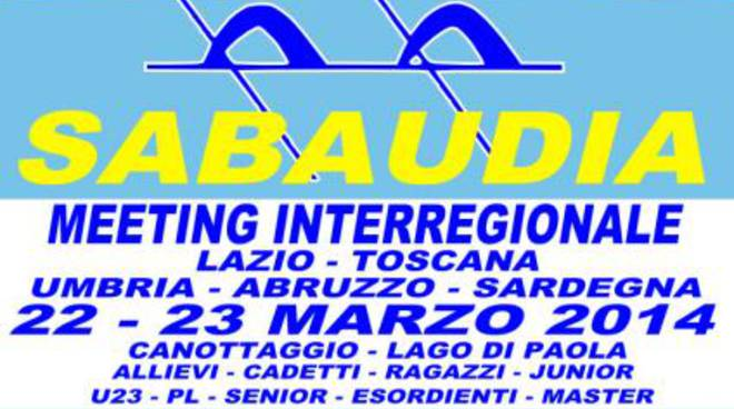 Meeting InterRegionale di Canottaggio a Sabaudia