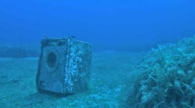 """I rifiuti contaminano i fondali marini"""