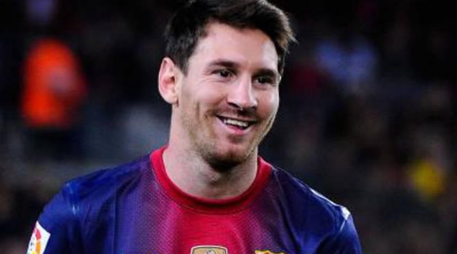 Il fuoriclasse argentino Lionel Messi a Ponza