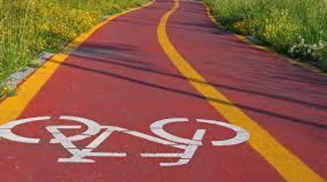 Iniziati lavori pista ciclabile Parco Leonardo - Fiumicino