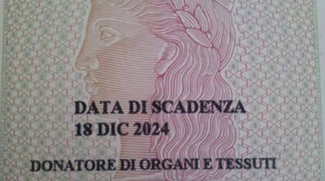 Donazione Organi, al via il progetto Carta d'Identità