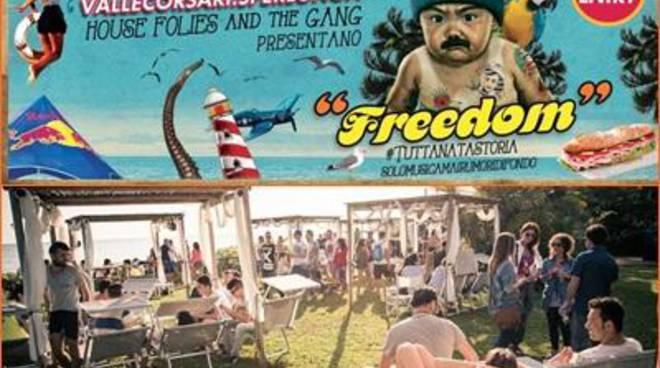 Freedom prima edizione, per un giorno intero quarantacinque artisti sul palco