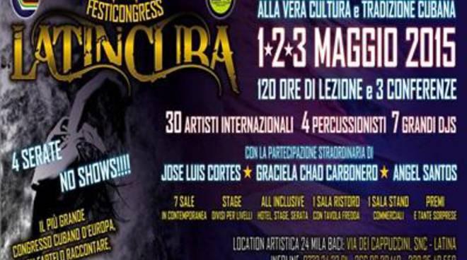 Il festival internazionale LatinCuba al 24000 Baci