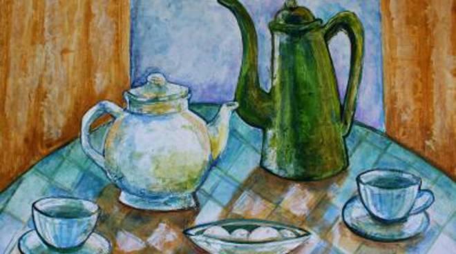 In mostra al Risto Bar Al Colonial le opere di Tatiana Lapteva