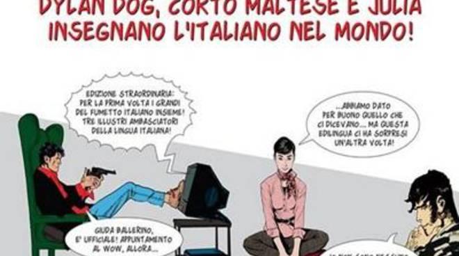 Insegnare l'italiano con i fumetti alla Sapienza