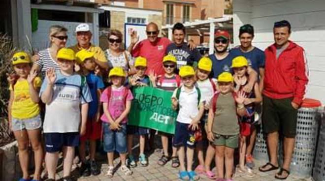Scuolambiente: grande successo per il Flash Mob 'Per non dimenticare Chernobyl