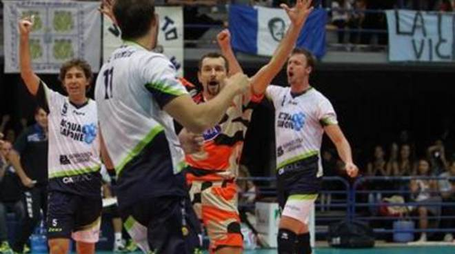Volley, gara di andata delle semifinali scudetto per la Top Volley