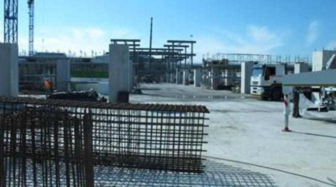 Aeroporto, Molo C, i lavori proseguono spediti