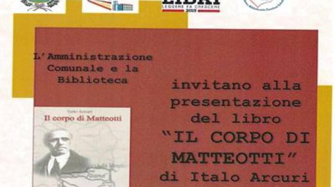 Al Granarone filmati e documenti sull'omicidio di Giacomo Matteotti