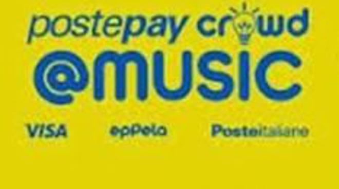 Con PostepayCrowd@Music Poste Italiane sostiene i progetti musicali