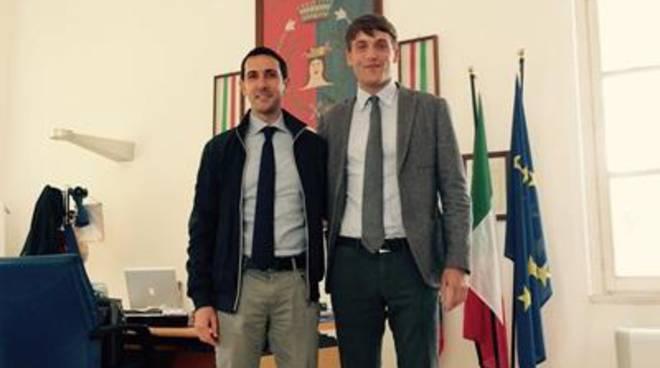 Eccellenze del territorio, il sindaco incontra Alex Frassineti