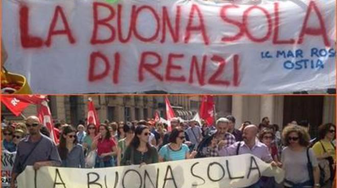 Grande adesione allo sciopero della scuola, degli Istituti del territorio