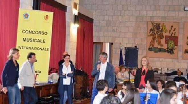 L'assessore Celli all'8° Concorso Musicale Internazionale Città di Tarquinia