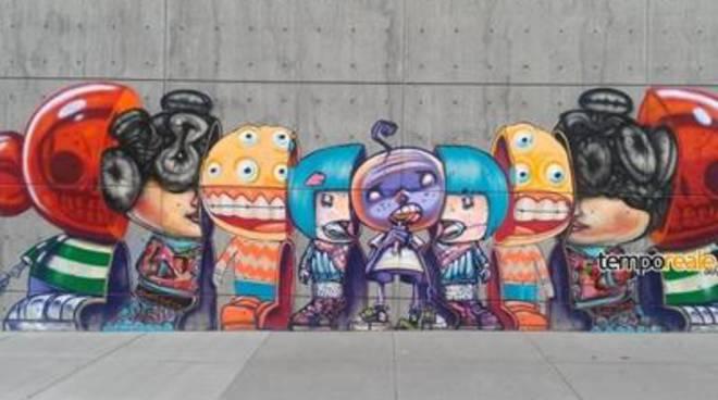 La street art incontra il mare