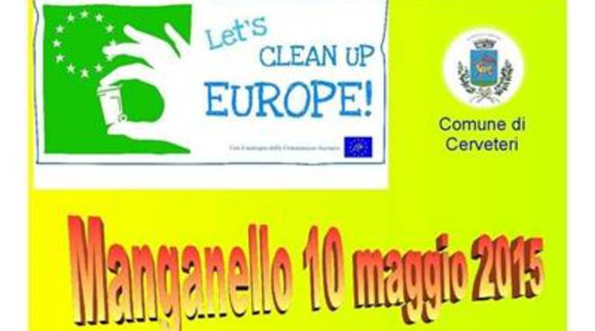 Let's Clean Up Europe, Cerveteri aderisce per dare nuova vita alla Valle del Manganello