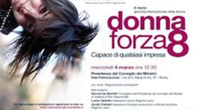 """Lo Sportello """"Donna Forza 8"""" nello Spazio Attivo Bic Lazio"""