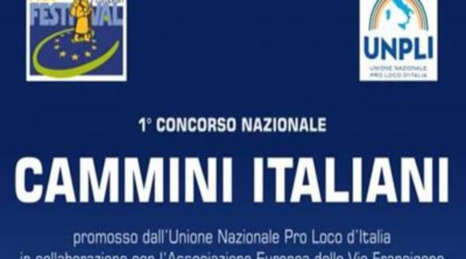 """Unpli, l'unione delle pro loco lancia il concorso """"Cammini Italiani"""""""