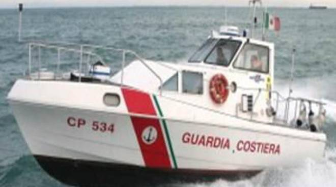 Fermata unità mercantile battente bandiera Panamense