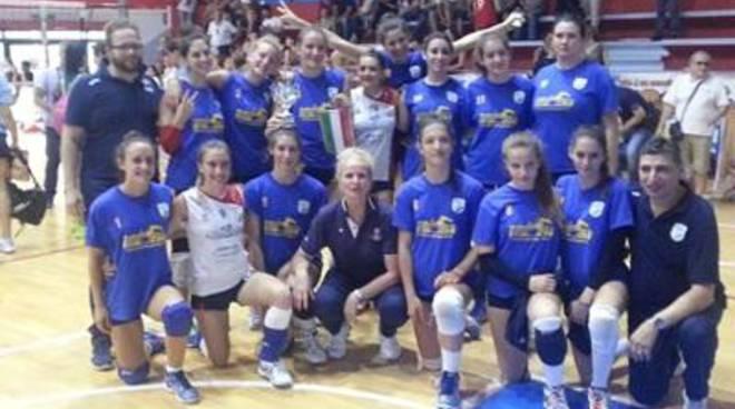 La Sabaudia Pallavolo Gruppo Connect ha vinto la Coppa Primavera