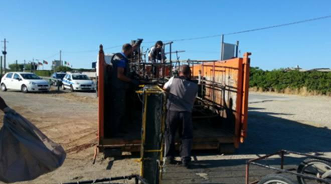 Passoscuro: operazione congiunta contro sporcizia e illegalità