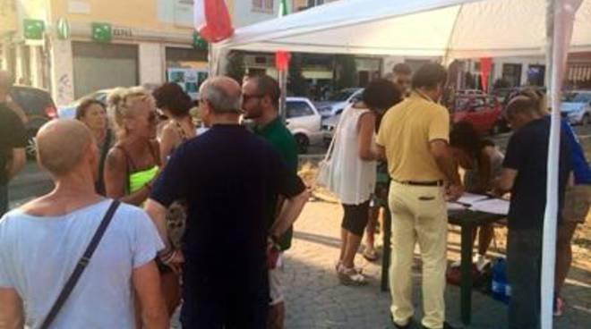 CasaPound: oltre 250 firme contro degrado via Remi