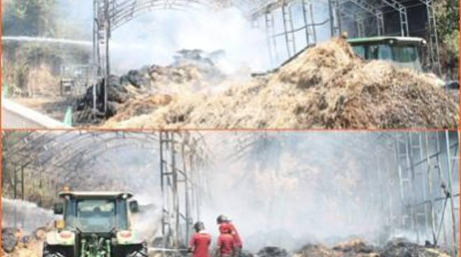 Ennesimo incendio doloso a poche centinaia di metri dall'Aula Consiliare