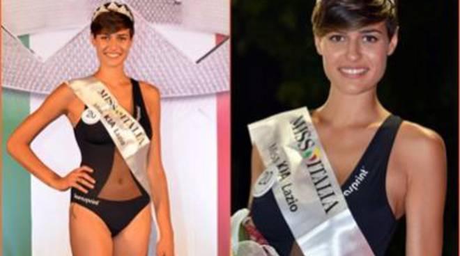 Miss Italia, Alice Sabatini è la prima finalista laziale
