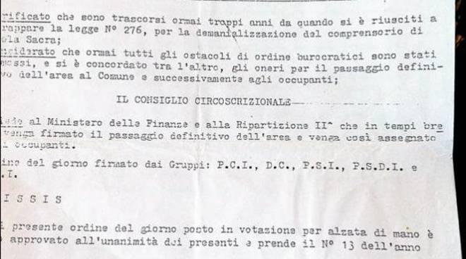 Passo della Sentinella: ecco i documenti che danno ragione ai residenti