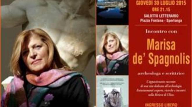 Torna a Sperlonga Marisa de' Spagnolis, archeologa e scrittrice
