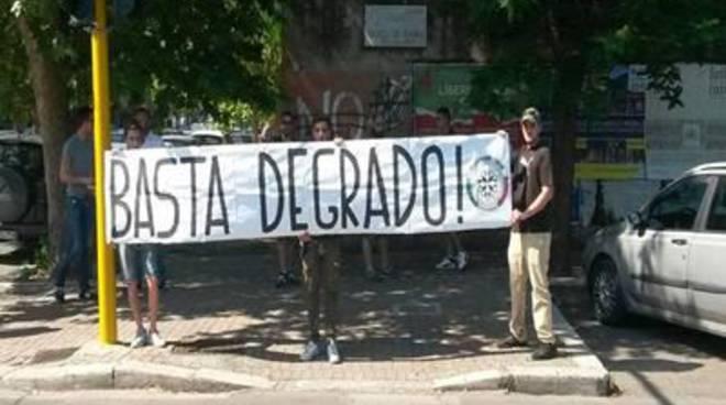 "Casapound: ""No ai nuovi mercatini rom"""