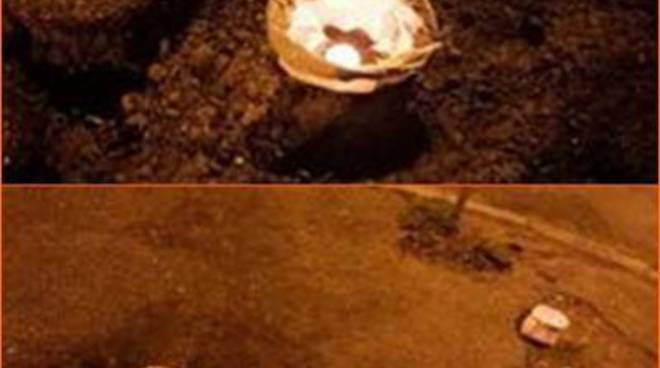 Da Ostia a Infernetto: centinaia di lanterne sulle buche delle strade del X Municipio