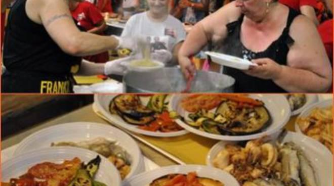 E' record per la Spaghettongola 2015.Diecimila pasti preparati in nove giorni
