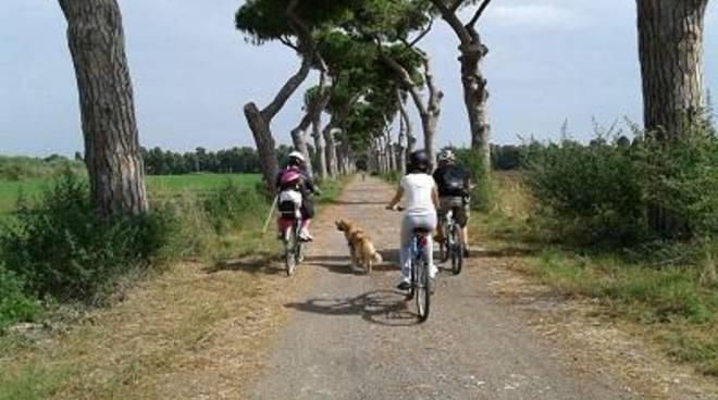 Biciclettata di Torre Perla,tra memoria e futuro