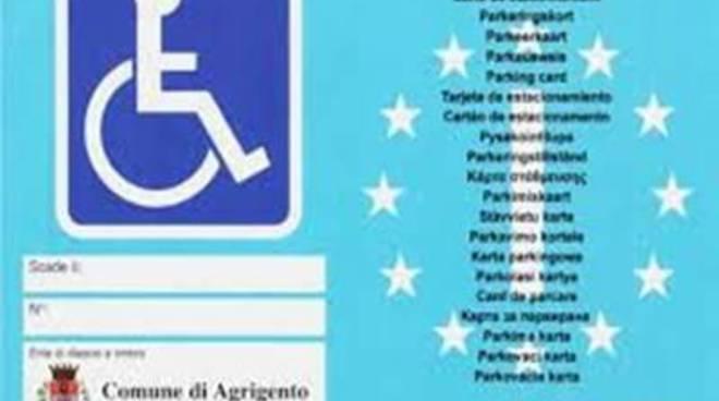 Disabili: il contrassegno auto diventa europeo