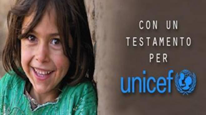 L'Unicef celebra la Giornata Internazionale dei Lasciti