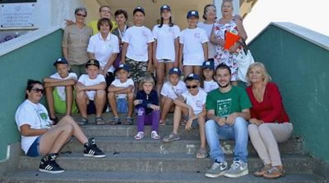 La Corrado Melone accoglie i bambini bielorussi in vacanza a Ladispoli
