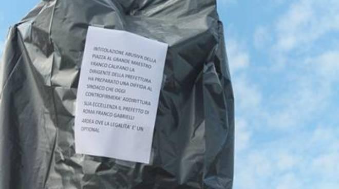 """""""Piazza Franco Califano"""",continua la polemica"""
