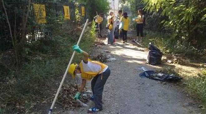 Proseguono le opere di pulizia a Roma e nel Lazio