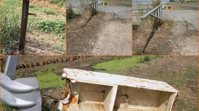 """Russo D'Auria: """"Canali di Bonifica, non ci siamo. Discariche e manutenzione sono i problemi"""""""
