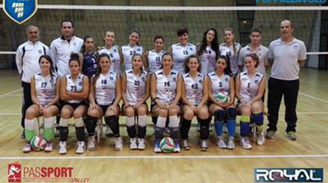 Bella vittoria dell'under 18 Femminile elite per la Volley Fiumicino