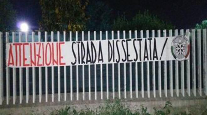 """CasaPound Italia: """"Pomezia e Torvaianica, attenzione alle strade dissestate"""""""