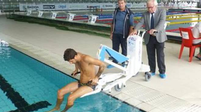 Disabilità, Anffas Ostia e Fin insieme per il nuoto<br />