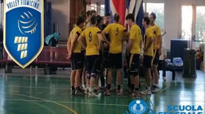 Esordio con vittoria per la Serie D Maschile della Volley Fiumicino