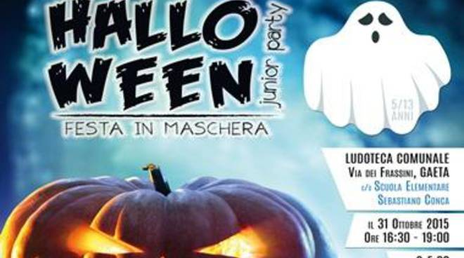 Halloween: Mega-festa in ludoteca