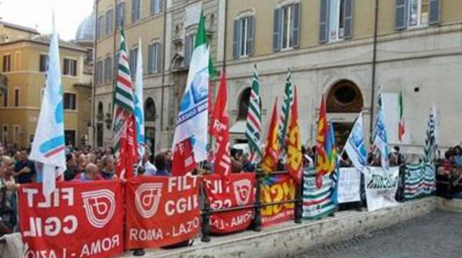 I sindacati di Alitalia Maintenance Systems alle Istituzioni ed Alitalia/Etihad